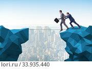 Купить «Concept of unethical business competition», фото № 33935440, снято 4 июля 2020 г. (c) Elnur / Фотобанк Лори