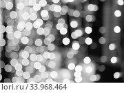 Купить «Beautiful bokeh background for design.», фото № 33968464, снято 31 декабря 2016 г. (c) Nataliia Zhekova / Фотобанк Лори
