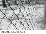 Купить «Old rusty mesh in blurring. Colorful pattern.», фото № 33968524, снято 8 мая 2017 г. (c) Nataliia Zhekova / Фотобанк Лори