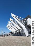 Купить «Germany, Bremen - The OeVB-Arena (Stadthalle) is the largest venue in the city», фото № 33983984, снято 23 апреля 2020 г. (c) Caro Photoagency / Фотобанк Лори