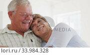 Купить «Caucasian senior couple spending time together socialising before their ballroom dancing class», видеоролик № 33984328, снято 8 ноября 2019 г. (c) Wavebreak Media / Фотобанк Лори