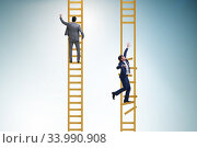 Купить «Career competition in business environment», фото № 33990908, снято 4 июля 2020 г. (c) Elnur / Фотобанк Лори