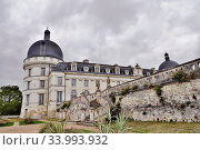 Замок Валансе (Château de Valençay) Долина реки Луары. Франция. (2019год) Редакционное фото, фотограф Вера Смолянинова / Фотобанк Лори