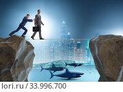 Купить «Concept of unethical business competition», фото № 33996700, снято 5 июля 2020 г. (c) Elnur / Фотобанк Лори