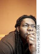Thoughtful man. Стоковое фото, фотограф Egerland Productions / age Fotostock / Фотобанк Лори