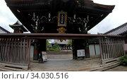 Купить «Video of stairs and gates to Otani Hombyo temple. Kyoto. Japan», видеоролик № 34030516, снято 9 июня 2020 г. (c) Serg Zastavkin / Фотобанк Лори