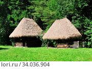 Купить «Sibiu romania ethnic museum wood house architecture», фото № 34036904, снято 15 июля 2020 г. (c) easy Fotostock / Фотобанк Лори