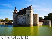 Chateau de Sully-sur-Loire, France (2018 год). Стоковое фото, фотограф Яков Филимонов / Фотобанк Лори