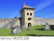 Ostrozac Castle, Una-Sana Canton, Bosnia and Herzegovina. Стоковое фото, фотограф Ivan Pendjakov / age Fotostock / Фотобанк Лори