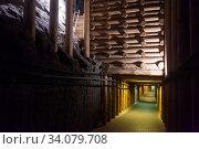 Купить «Old tunnel in mountain mine», фото № 34079708, снято 1 июля 2020 г. (c) Яков Филимонов / Фотобанк Лори