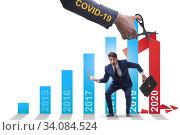Economic crisis due to coronavirus covid-19. Стоковое фото, фотограф Elnur / Фотобанк Лори