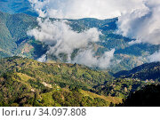 Beautiful mountains landscape in Costa Rica, Central America. Стоковое фото, фотограф Zoonar.com/Galyna Andrushko / easy Fotostock / Фотобанк Лори