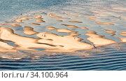 Купить «Russia Samara July 2017: Flooded sandbank, used as a sandy beach on a summer sunny day.», фото № 34100964, снято 14 июля 2012 г. (c) Акиньшин Владимир / Фотобанк Лори