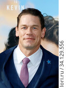 John Cena at the Los Angeles premiere of 'Dolittle' held at the Regency Village Theatre in Westwood, USA on January 11, 2020. Стоковое фото, фотограф Zoonar.com/Lumeimages / age Fotostock / Фотобанк Лори