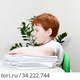 A beautiful child. Стоковое фото, фотограф Игорь Лейчонок / Фотобанк Лори