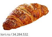 One multigrain croissant. Стоковое фото, фотограф Яков Филимонов / Фотобанк Лори