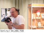 Балашиха фотограф в Краеведческом музее. Редакционное фото, фотограф Дмитрий Неумоин / Фотобанк Лори