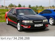 Toyota Mark II Tourer V. Редакционное фото, фотограф Art Konovalov / Фотобанк Лори