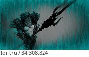 3d illustration of Neptune (Poseidon). Стоковое фото, фотограф Vitanovski Jovanche / easy Fotostock / Фотобанк Лори