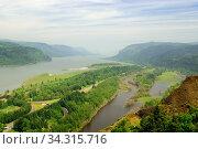 Columbia River Gorge (2012 год). Стоковое фото, фотограф Арестов Андрей Павлович / Фотобанк Лори