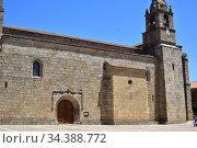 San Felices de los Gallegos, Nuestra Señora Entre Dos Alamos Church... Стоковое фото, фотограф J M Barres / age Fotostock / Фотобанк Лори