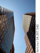 Bürotürme am Berliner Potsdamer Platz/Deutschland - Office tower ... Стоковое фото, фотограф Zoonar.com/Bernd Hoyen / age Fotostock / Фотобанк Лори