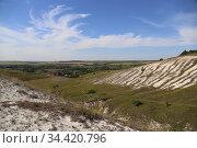 Меловые горы Белгородчины. Редакционное фото, фотограф Цветкова Елена / Фотобанк Лори