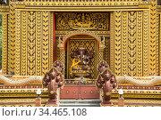 Wat Khao Ka Lok or Wat Summanavas near the Town of Pranburi on the... Стоковое фото, фотограф Zoonar.com/URS FLUEELER / age Fotostock / Фотобанк Лори