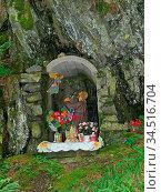 Bildstock, marterl, kreuzweg, religoin, christ, jesus, christus, jesus... Стоковое фото, фотограф Zoonar.com/Volker Rauch / easy Fotostock / Фотобанк Лори