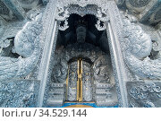 The Silver Temple or Wat Sri Suphan in the city of Chiang Mai at ... Стоковое фото, фотограф Zoonar.com/URS FLUEELER / age Fotostock / Фотобанк Лори