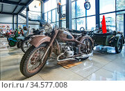 Выставка мотоциклов. Музей мотоциклов. Редакционное фото, фотограф Макаров Алексей / Фотобанк Лори