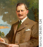 Beaumont Frederick - Sir Harry Baldwin - British School - 19th Century... Стоковое фото, фотограф Artepics / age Fotostock / Фотобанк Лори