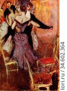 Boldini Giovanni - Ballerina in 'mauve' - British School - 19th Century... Стоковое фото, фотограф Artepics / age Fotostock / Фотобанк Лори