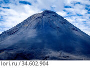 Pico do Fogo volcano in Cha das Caldeiras, Cape Verde. Стоковое фото, фотограф Zoonar.com/Laurent Davoust / age Fotostock / Фотобанк Лори