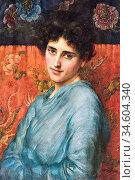 Breakspeare William Arthur - an Enchanting Beauty - British School... Стоковое фото, фотограф Artepics / age Fotostock / Фотобанк Лори
