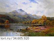 Breanski II Alfred De - the Trossachs Ben Venue and Loch Achray - ... Стоковое фото, фотограф Artepics / age Fotostock / Фотобанк Лори
