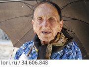 Old Armenian woman in Gory. Nagorno Karabagh. Photo: André Maslennikov... (2006 год). Редакционное фото, фотограф Andre Maslennikov / age Fotostock / Фотобанк Лори