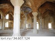 Lower Govhar Aga mosque in Shushi town. After armenian occupation... Стоковое фото, фотограф Andre Maslennikov / age Fotostock / Фотобанк Лори