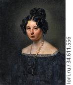 Vogel Von Vogelstein Carl Christian - Portrait of Anna Motherbig ... Редакционное фото, фотограф Artepics / age Fotostock / Фотобанк Лори