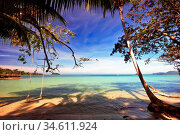 Beautiful tropical beach. Thailand. Стоковое фото, фотограф Zoonar.com/Dmitry Kushch / age Fotostock / Фотобанк Лори