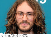 Nathan Grossman pose at a photocall for 'Greta' at the 77th annual... (2020 год). Редакционное фото, фотограф AGF/Maria Laura Antonelli / age Fotostock / Фотобанк Лори