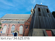 Martini Kirche in Sneek. Friesland, Niederlande. Стоковое фото, фотограф Zoonar.com/Gabriele Sitnik-Schmach / easy Fotostock / Фотобанк Лори