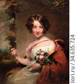 Carpenter Margaret Sarah - Portrait of Maria Stella Petronilla - ... Стоковое фото, фотограф Artepics / age Fotostock / Фотобанк Лори