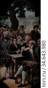 Cormon Fernand - Décors Du Petit Palais 13 - Le Xviiie Siècle (Le... Стоковое фото, фотограф Artepics / age Fotostock / Фотобанк Лори