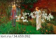 Parsons Beatrice Emma - Annunciation (Hail Thou Art Highly Favoured... (2020 год). Редакционное фото, фотограф Artepics / age Fotostock / Фотобанк Лори