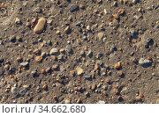 Фактура старого асфальта. Стоковое фото, фотограф Ельцов Владимир / Фотобанк Лори
