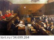 Lavery Sir John - High Treason Trial of Roger Casement - British ... Редакционное фото, фотограф Artepics / age Fotostock / Фотобанк Лори