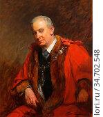 Lucas John Seymour - Eustace Edward Grubbe Mayor of Southwold - British... Редакционное фото, фотограф Artepics / age Fotostock / Фотобанк Лори