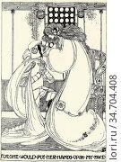 King Jessie Marion - Illustration for William Morris' 'the Defence... Редакционное фото, фотограф Artepics / age Fotostock / Фотобанк Лори