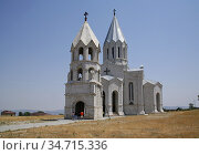 Holy Savior Cathedral, commonly referred to as Ghazanchetsots, is... Стоковое фото, фотограф Andre Maslennikov / age Fotostock / Фотобанк Лори